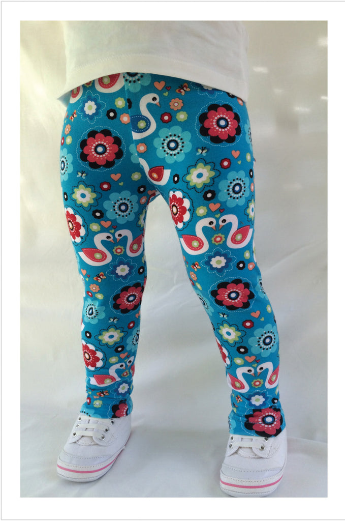 Super stretch kids leggings sewing pattern by Felicity Sewing Patterns