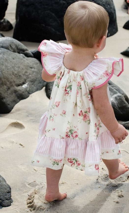 baby dress sewing pattern Butterfly Dress by Felicity Patterns