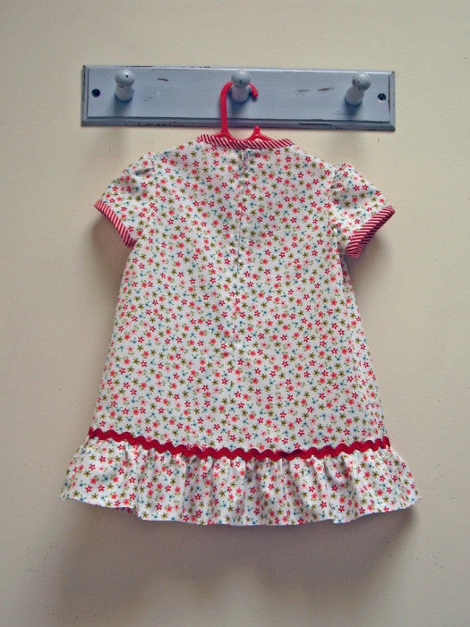 Toddler summer dress and top sewing pattern by Felicity Patterns