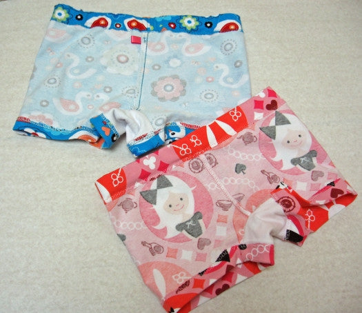 Hopscotch Shorties  girls shortie underpants sizes 2 to 14 years by Felicity Sewing Patterns