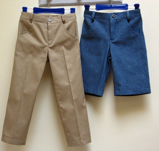 pdf pattern for boys trousers by Felicity Sewing Patterns
