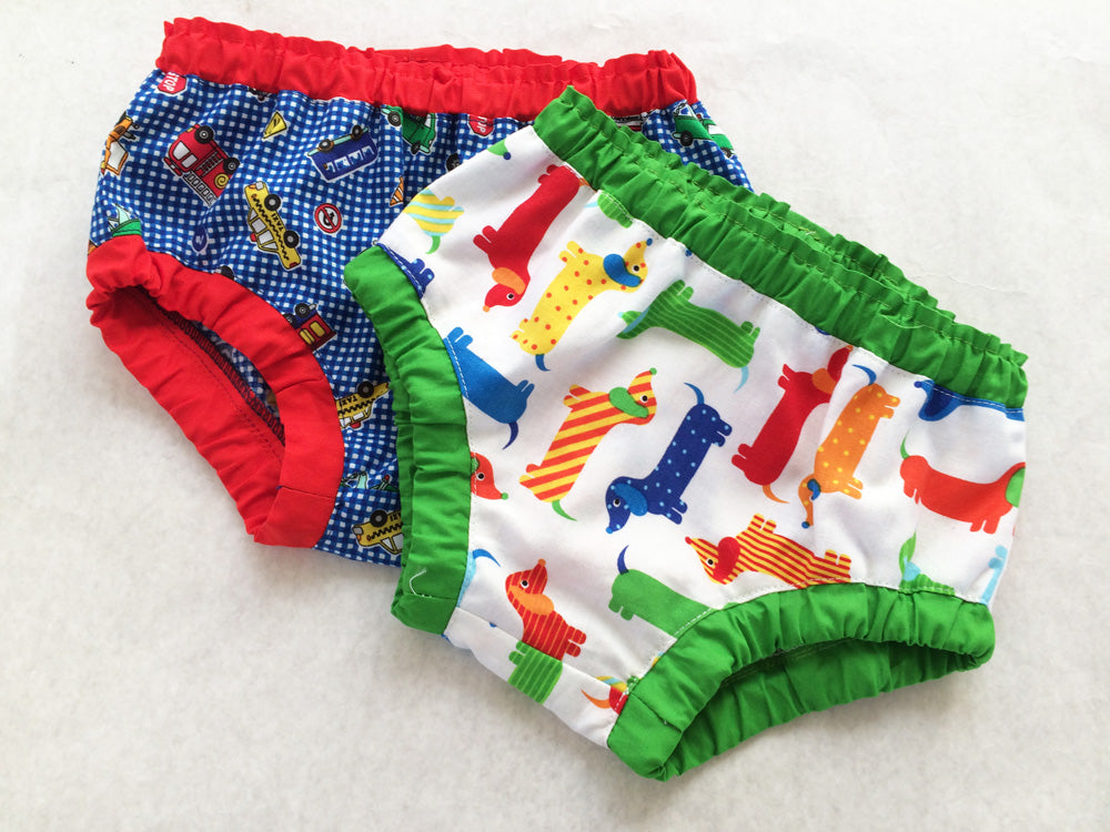 Baby & toddler diaper cover/ over pants pdf sewing pattern, 3+ months - 4 years, boys & girls. - Felicity Sewing Patterns