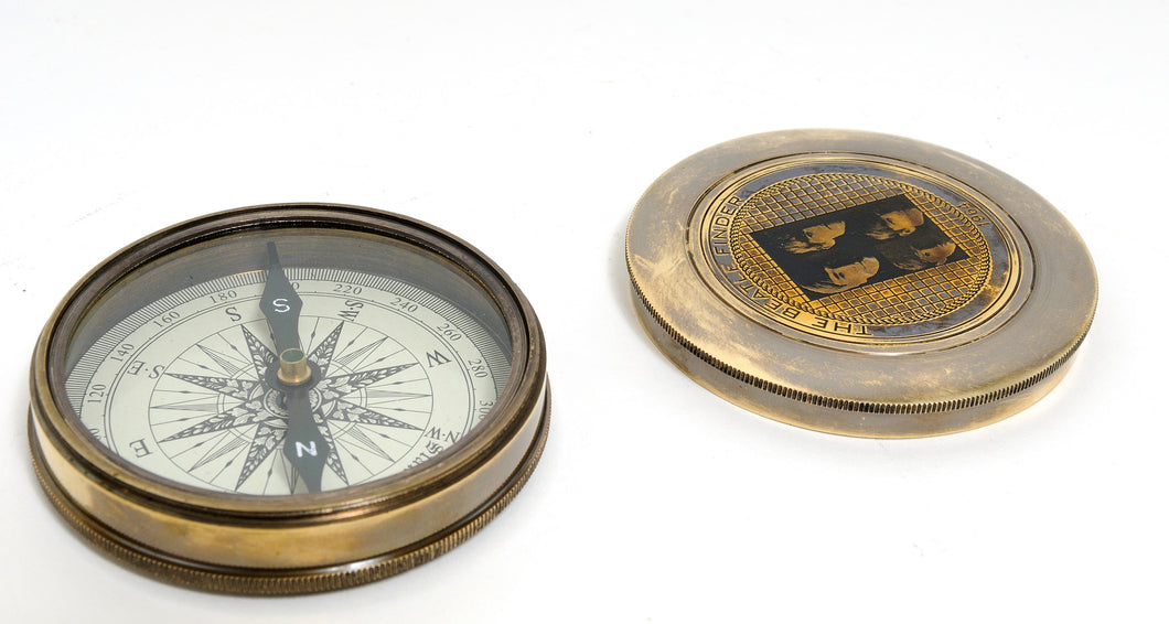Beetles Compass with leather case  ND003