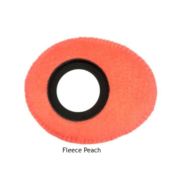 Bluestar Oval Large Red Ultrasuede Microfiber Eyecushion For Viewfinder