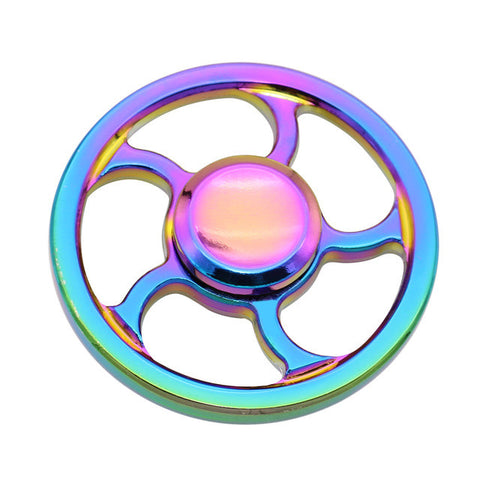 Fidget Spinner rainbow wheel