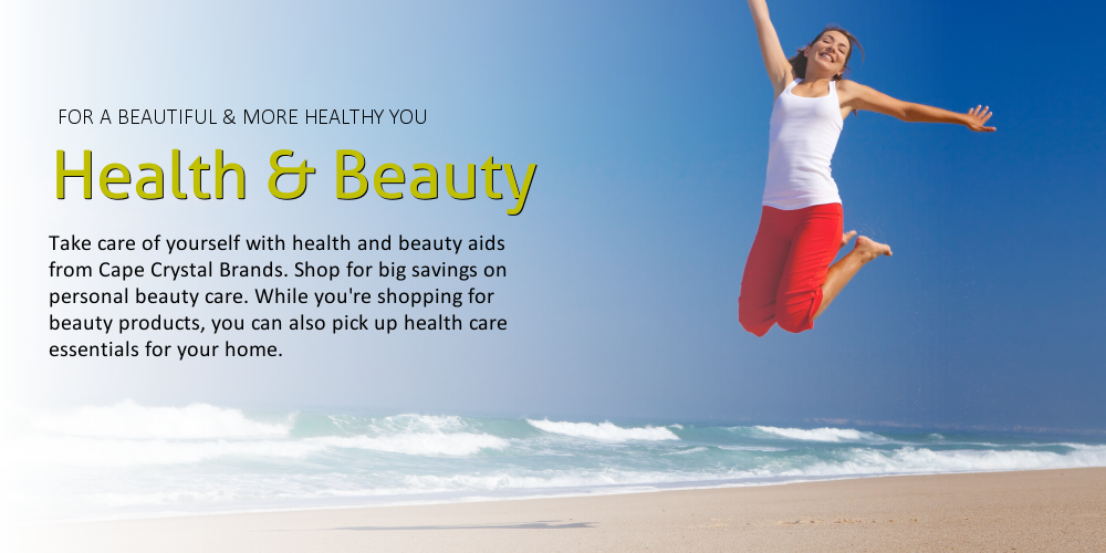 Cape Crystal Brands health and Beauty Products