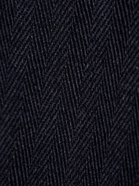 Dadier Pant In Black Detail Of Fabric