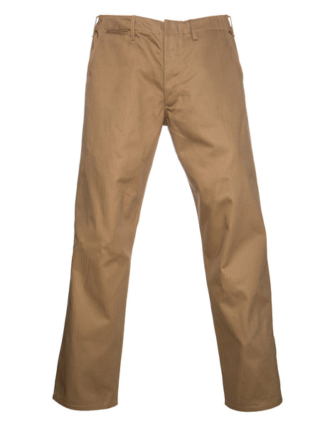 Dadier Pant In Tan Flat Lay Main Front Photo
