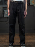 Dadier Pant In Black On Body Front