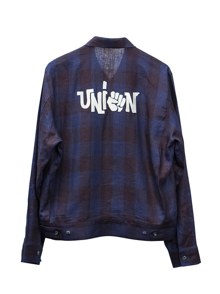 THEE UNION JACKET - PLAID
