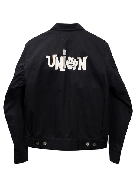 THEE UNION JACKET - BLACK