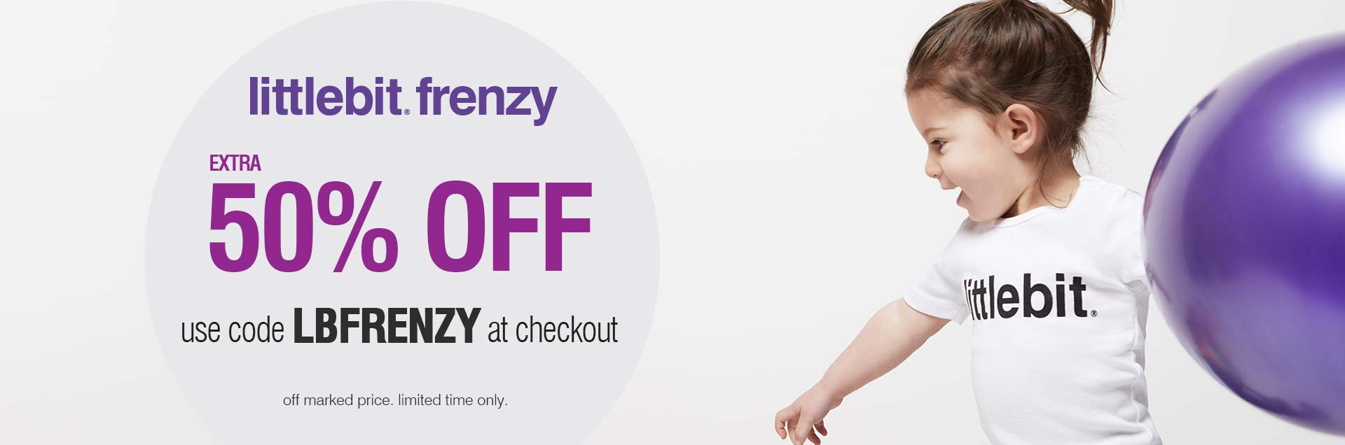 littlbit frenzy - Use code LBFRENZY at checkout