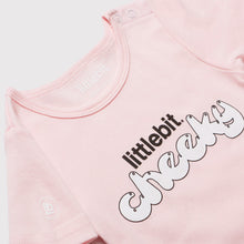 'Littlebit Cheeky' Baby T-Shirt