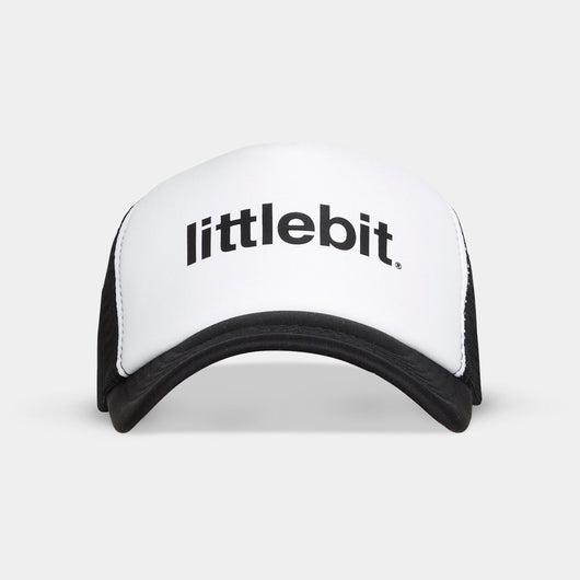 White littlebit Logo Trucker Cap