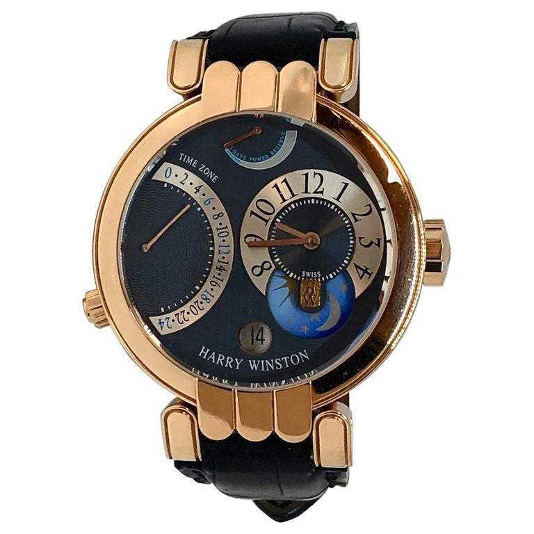 Harry Winston Premier Moonphase Watch
