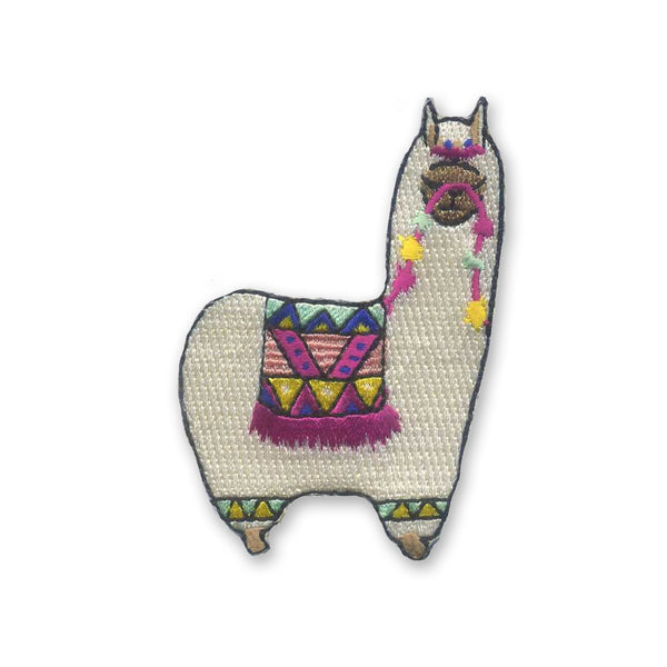 Alpaca Embroidered Patch