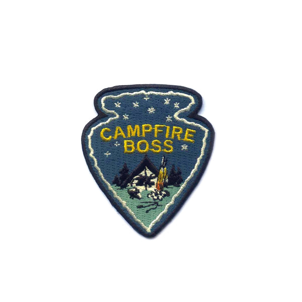 Campfire Boss Embroidered Patch
