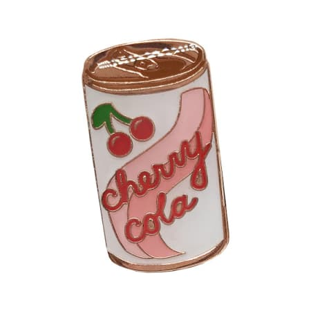 Cherry Cola Lapel Pin