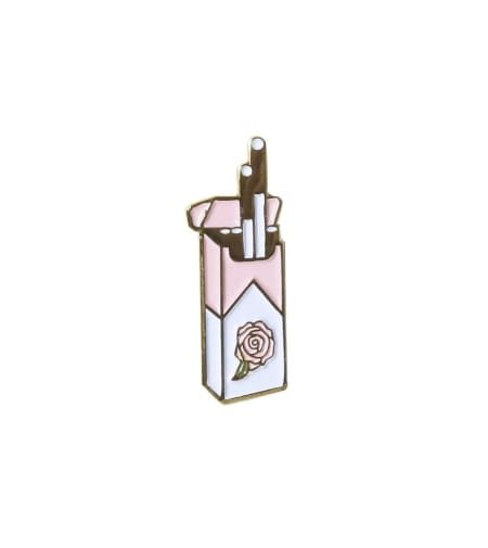 Cigarettes Lapel Pin