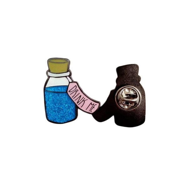 Drink Me Enamel Pin