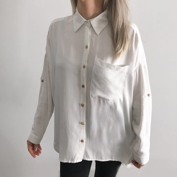 Customizable Embroidered Collar Shirt