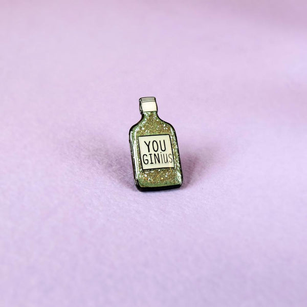 You GINius Enamel Pin