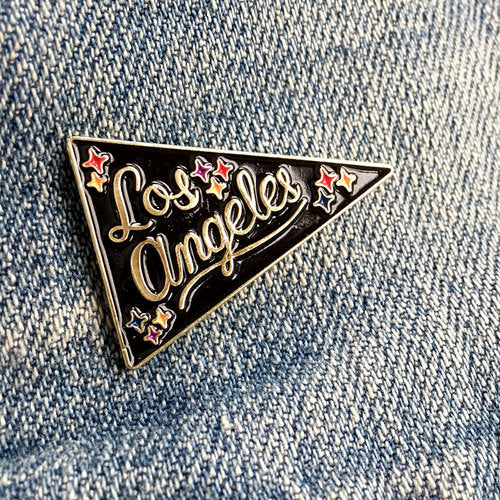 Los Angeles Pennant Lapel Pin