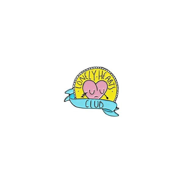 Lonely Hearts Club Enamel Pin