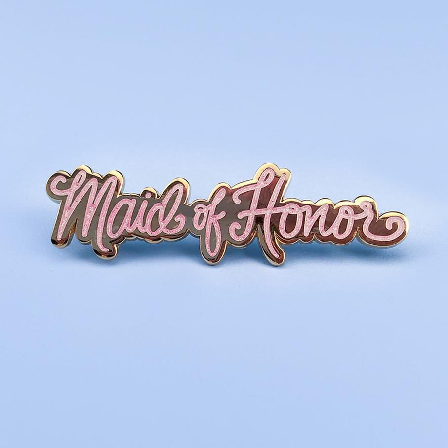 Maid of Honor Enamel Pin