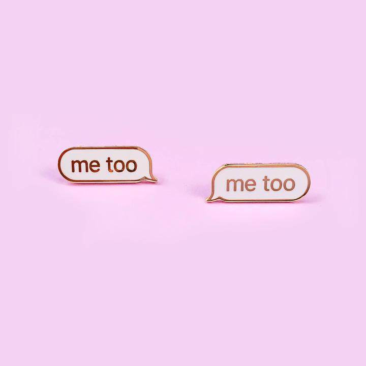 #metoo Enamel Pin Set