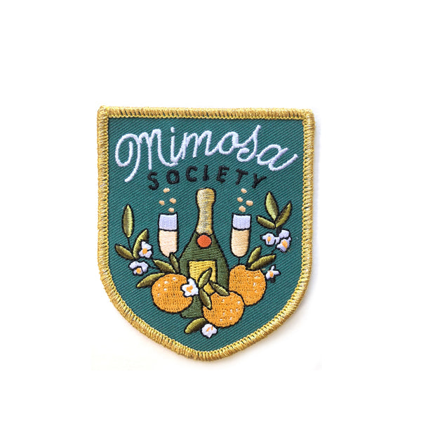 Mimosa Society Embroidered Patch