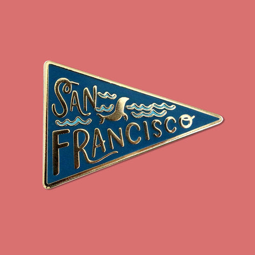 San Francisco Pennant Lapel Pin
