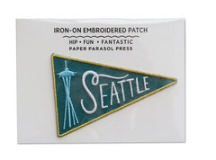Seattle Iron-on Embroidered Patch