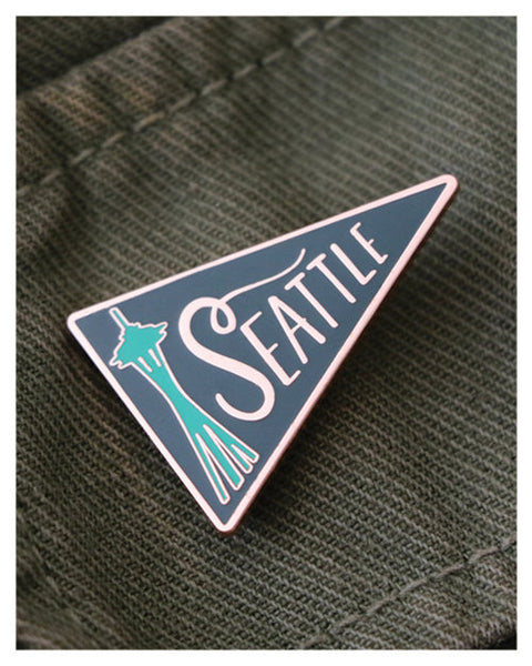 Seattle Pennant Lapel Pin