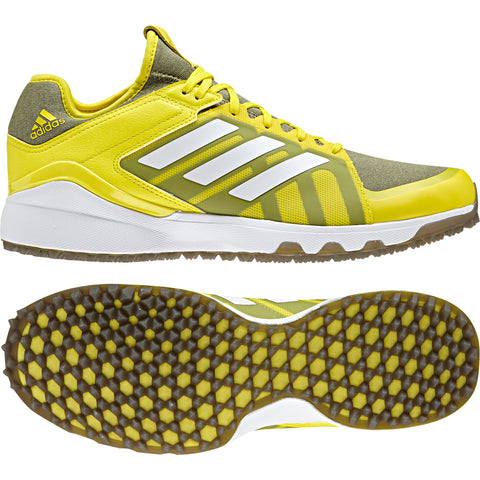 adidas Hockey LuxField Hockey Shoes - Yellow - 2018