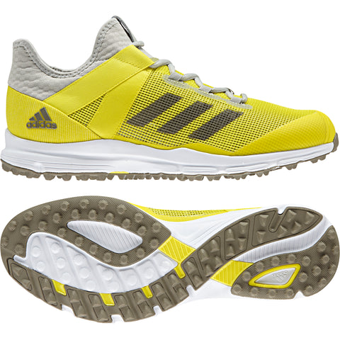 adidas Zone Dox Field Hockey Shoes - Yellow - 2018