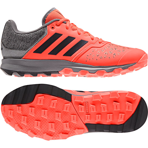 adidas FlexCloud Field Hockey Shoes - Red - 2018