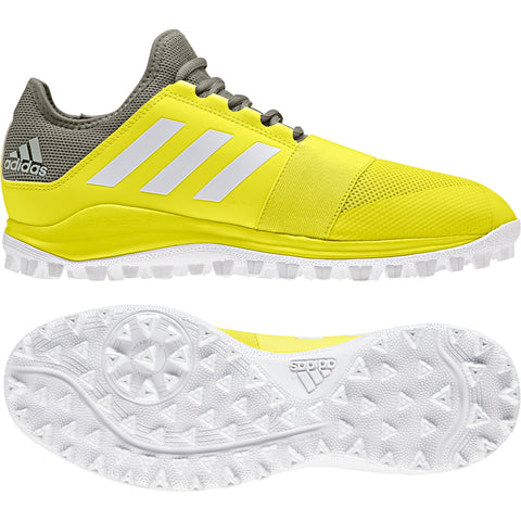 adidas Divox Field Hockey Shoes - Yellow - 2018