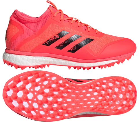 adidas Fabela X Empower Field Hockey Shoes - Tokyo Pink