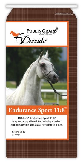 Decade Endurance Sport 11:8 Horse Feed 50lb bag