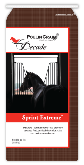 Decade Spring Extreme Horse Feed 50lb bag