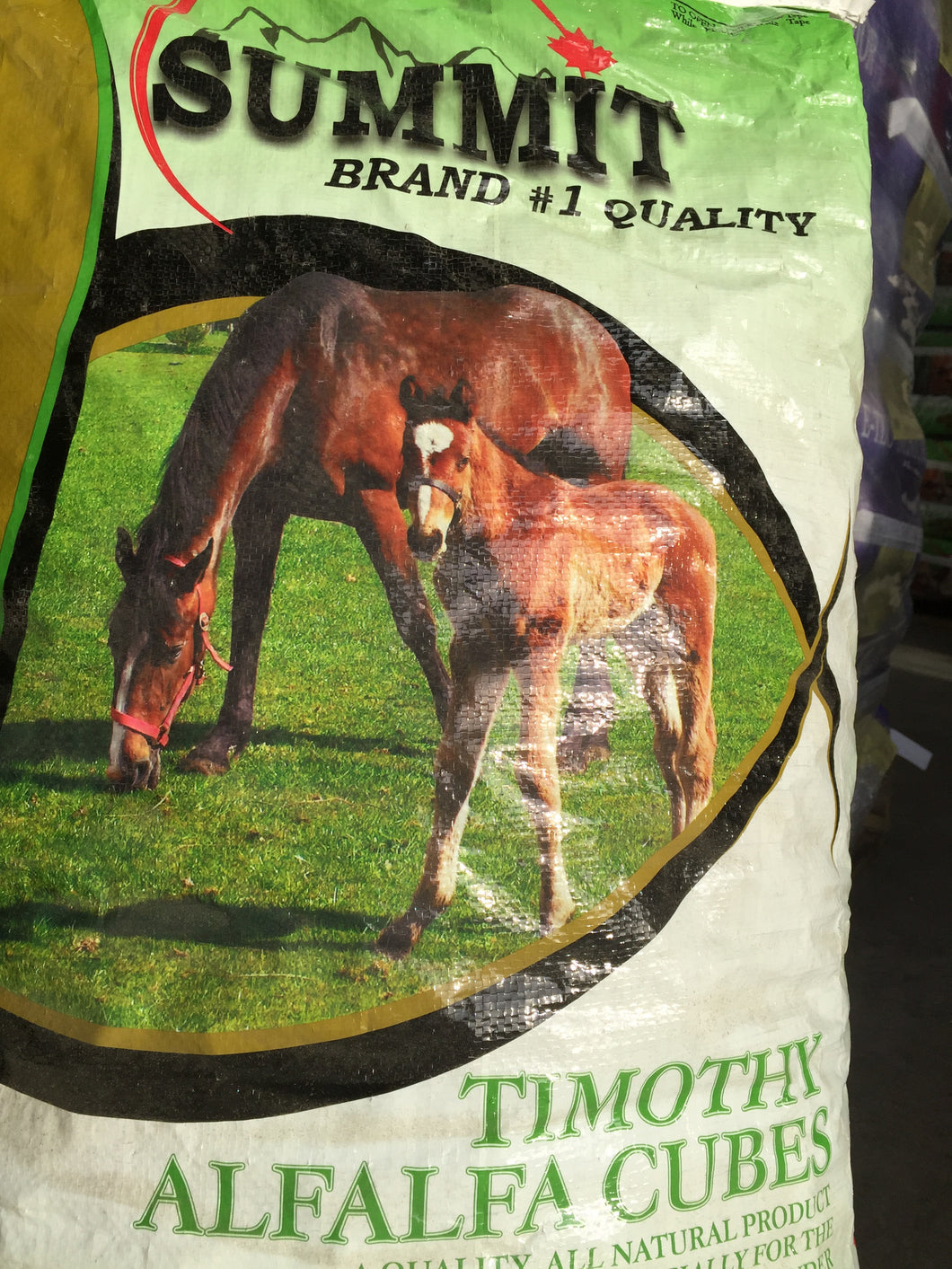 Alfalfa/Timothy Cube feed bag