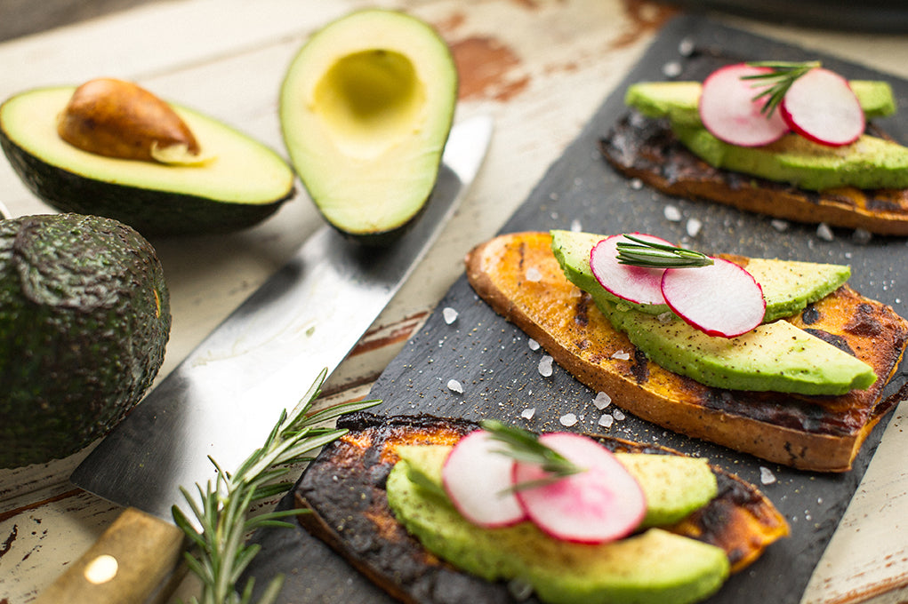 Grilled Sweet Potato and Avocado (3)