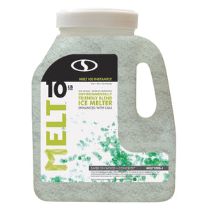 MELT 10 Lb. Jug Premium Environmentally-Friendly Blend Ice Melter w/ CMA