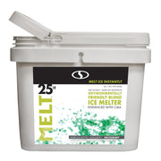 MELT 25 Lb. Bucket Premium Environmentally-Friendly Blend Ice Melter w/ CMA