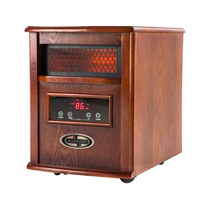 Snow Joe SJQH1500-DO Glo Infrared Quartz Heater | 1500 Watt · 4 Quartz | Digital Thermostat · Timer