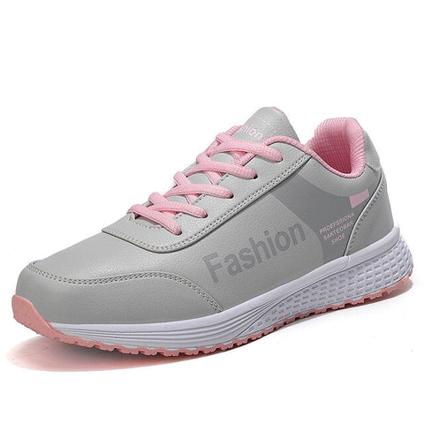 size 35-42 2020 fashion tennis shoes for women light leather black sneakers gym woman sport trainers tenis feminino basket femme