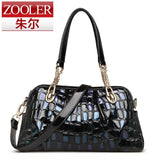 ZOOLER Brand genuine leather bag for women leather bag female women's handbags fashion shoulder bags messenger bags designer1066