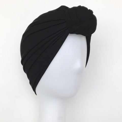 GLAM Knot Turban- Black