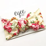 Top Knot Headband- English Garden